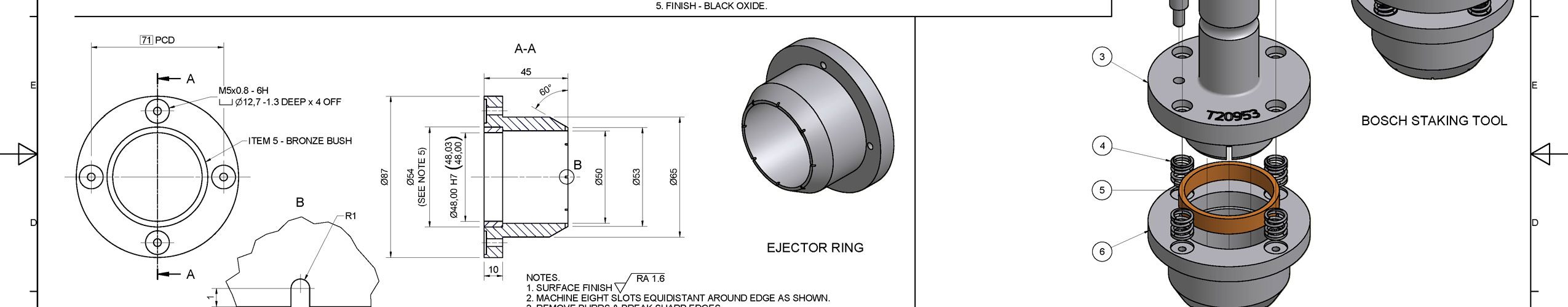 Consulting service provider delivering Engineering Drawings to industry. To BS 8888.